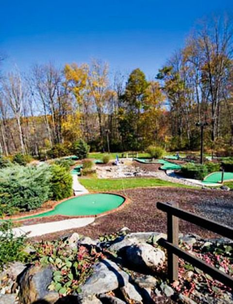 Miniature Golf On-Site at the Shawnee Village Resort