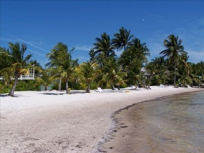 350 ft of Secluded, private, sugarsand beach