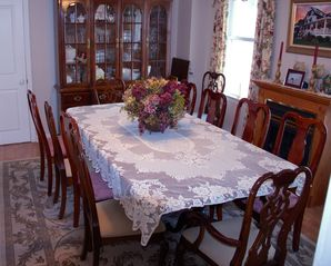 Avon-by-the-Sea house photo - Dining room, seating for 12