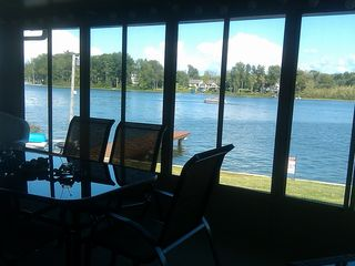 Coloma house photo - Lake view from 3 Seasons Room