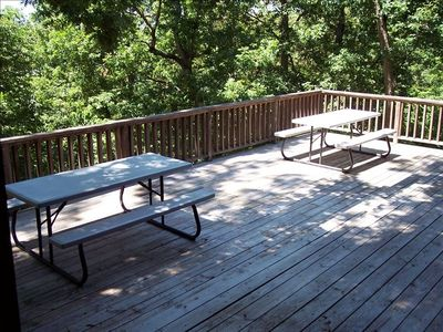 Rogers house rental - Back deck