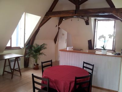 Port of Vannes, charming 65m2 in building renovated eighteenth, internet