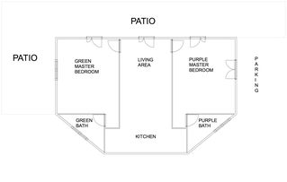 Lezzeno apartment photo - Basic floor plan for the apartment