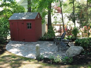Ogunquit cottage photo - Shed & Patio, not included in photo are the grill and patio furniture.