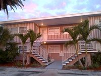 Perfect Location! Directly Across The Street From The Semi Private Beach !