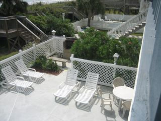 Surfside Beach condo photo - Built in barbeque off pool deck