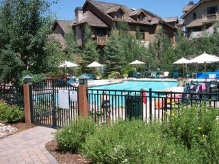 Arrowhead condo photo - Large Pool & hot tub area...less than a block from the condo..