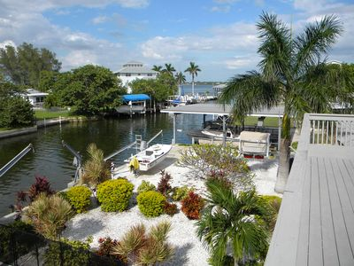 View of Canal to Lemon Bay