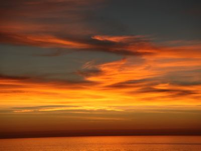Solana Beach house rental - Beautiful Sunsets