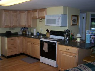 Great Island cottage photo - sunny, fullly equipped kitchen