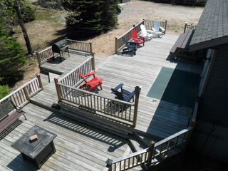 Brethren house photo - Great multi-level back deck with grill, plenty of seating