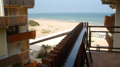 Beautiful apartment on beachfront with great views close to Formula 1 circuit