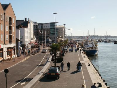 Poole Quay from the viewing tower