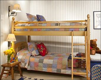 Bunk Bed and Private Bat in the Fourth Bedroom