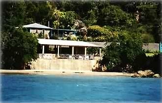 Treasure Beach villa rental - Ocean view of Great Escape
