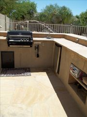 Chandler house photo - Outdoor bar with grill and mini frig!