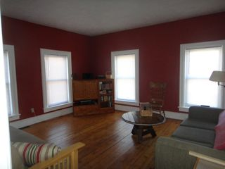 Large windows let in a ton of light! - Ludlow house vacation rental photo