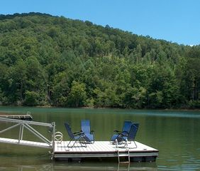 Large Lakefront Cabin With Private Boat Homeaway