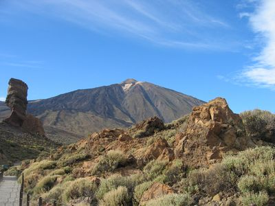 Majestic MT Teide and national park. A wonderful stunning sight.