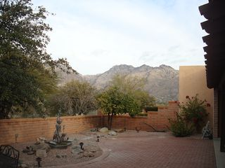 Tucson townhome photo - Backyard/patio