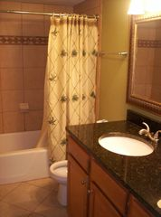 Indian Shores condo photo - Updated Master Bathroom with Granite
