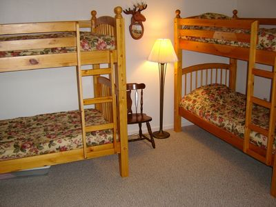 North Conway townhome rental - Loft - Bunkbeds