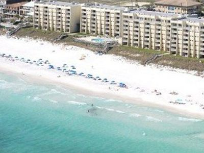 Miramar Beach condo rental - Over 600 feet of beach frontage! Over 2 football fields wide!!