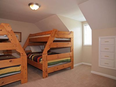 Cottonwood Heights house rental - UPSTAIRS BEDROOM #3 (2 BUNKS - TWIN OVER FULL)