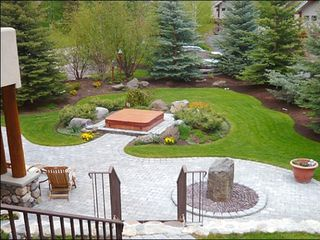 Sun Valley house photo - Beautifully Landscaped Yard Includes a Private Hot Tub
