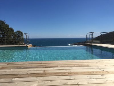 A beautiful, high standard, 350-sq.m villa with panoramic sea and mountain views