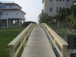 St George Island house photo - Boardwalk