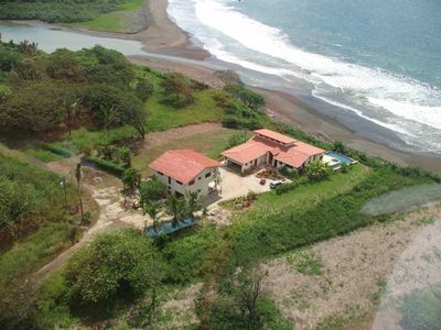 Villa Hermosa on the Beach. Listen and watch the waves crash on the beach.