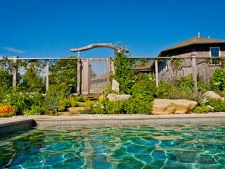 Gayhead - Aquinnah house photo - Large Pool Has Lavish Entry, Perennial Gardens & Granite Patio Surround