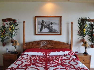 The Pikake Guest Suite - emphasizing the flora of Hawaii