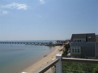 Provincetown condo photo - View of Coast Guard Pier to the West