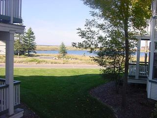 Manistee condo photo - View From Dining Area and Deck