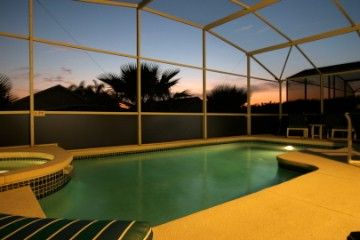 Highlands Reserve villa rental - Breathtaking sunsets from our private pool deck