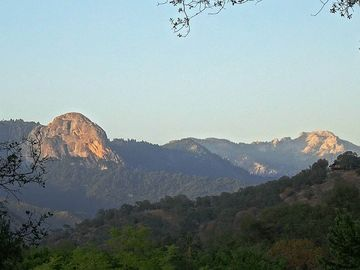 Three Rivers house rental - Moro Rock from deck of house