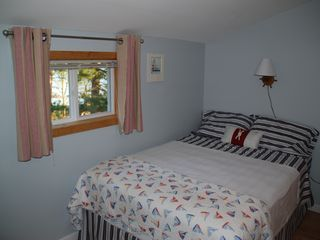 Blue Room with views of pine cove and back woods - Alexandria Bay cottage vacation rental photo