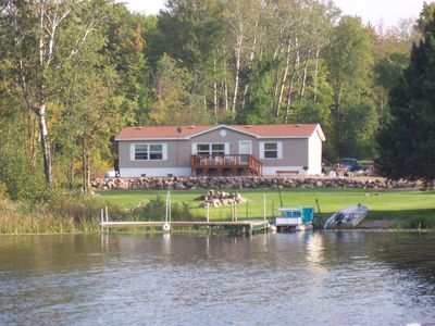 Winter house rental - Pull on in from a day on the lake.