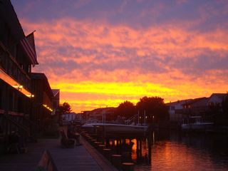 Vacation Homes in Ocean City condo photo - Beautiful sunsets from your deck