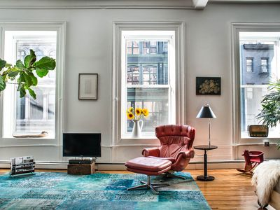Spacious Design Loft - Union Square/Greenwich Village - 2BR, 1.5 Bath, Sleeps 8