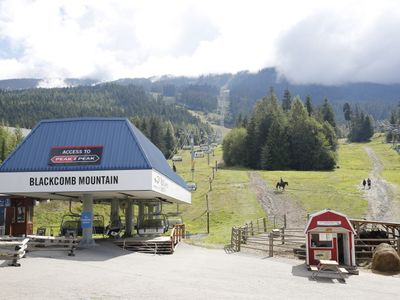 Base of Blackcomb becomes the Family Adventure Zone in the summer.