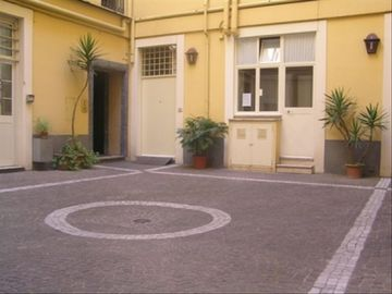 Internal Courtyard - San Clemente Basilica apartment