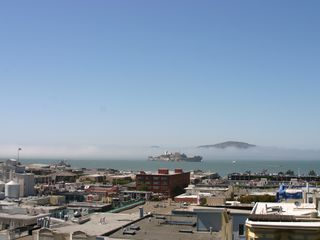 San Francisco apartment photo - Views of Bay and Alcatraz