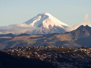 Lago San Pablo villa photo - Volcano Land! Cotopaxi 19350ft seen from Quito. We drive 3h to the park entrance