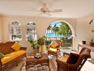 Scenic Barbados Living Room view