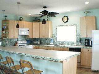 13' Eating Bar in the Kitchen - Cat Island house vacation rental photo