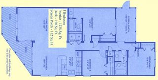 Surf City condo photo - Floor Plan