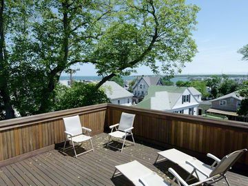 Hill House Has Two Roof Top Decks For Relaxing & Entertaining